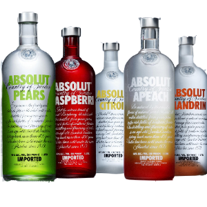 ABSOLUT CITRON, MANDRIN...70 CL